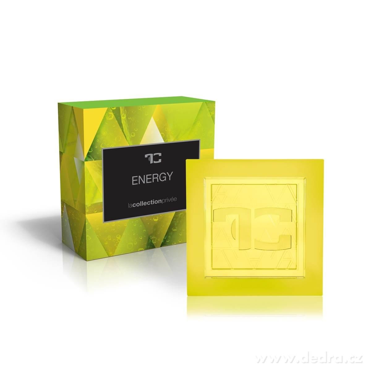 Dedra Přírodní glycerinové mýdlo Energy la collection privée 90 g