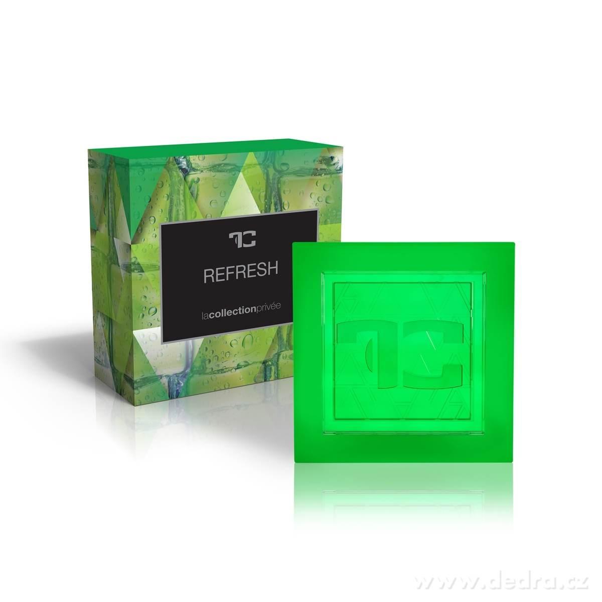 Dedra Přírodní glycerinové mýdlo Refresh la collection privée 90 g