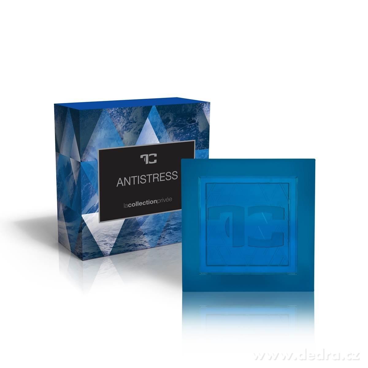 Dedra Přírodní glycerinové mýdlo Antistress la collection privée 90 g