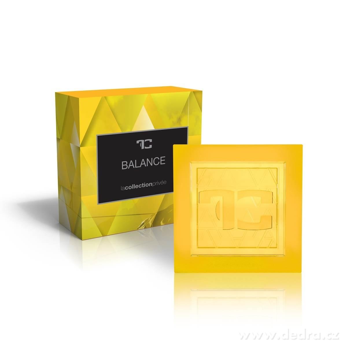 Dedra Přírodní glycerinové mýdlo Balance la collection privée 90 g