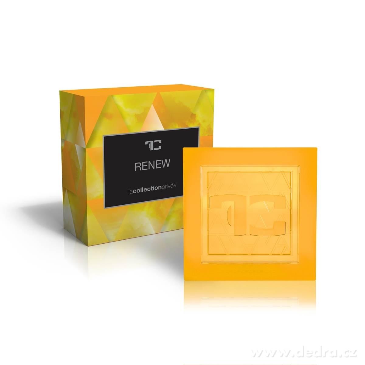 Dedra Přírodní glycerinové mýdlo Renew la collection privée 90 g
