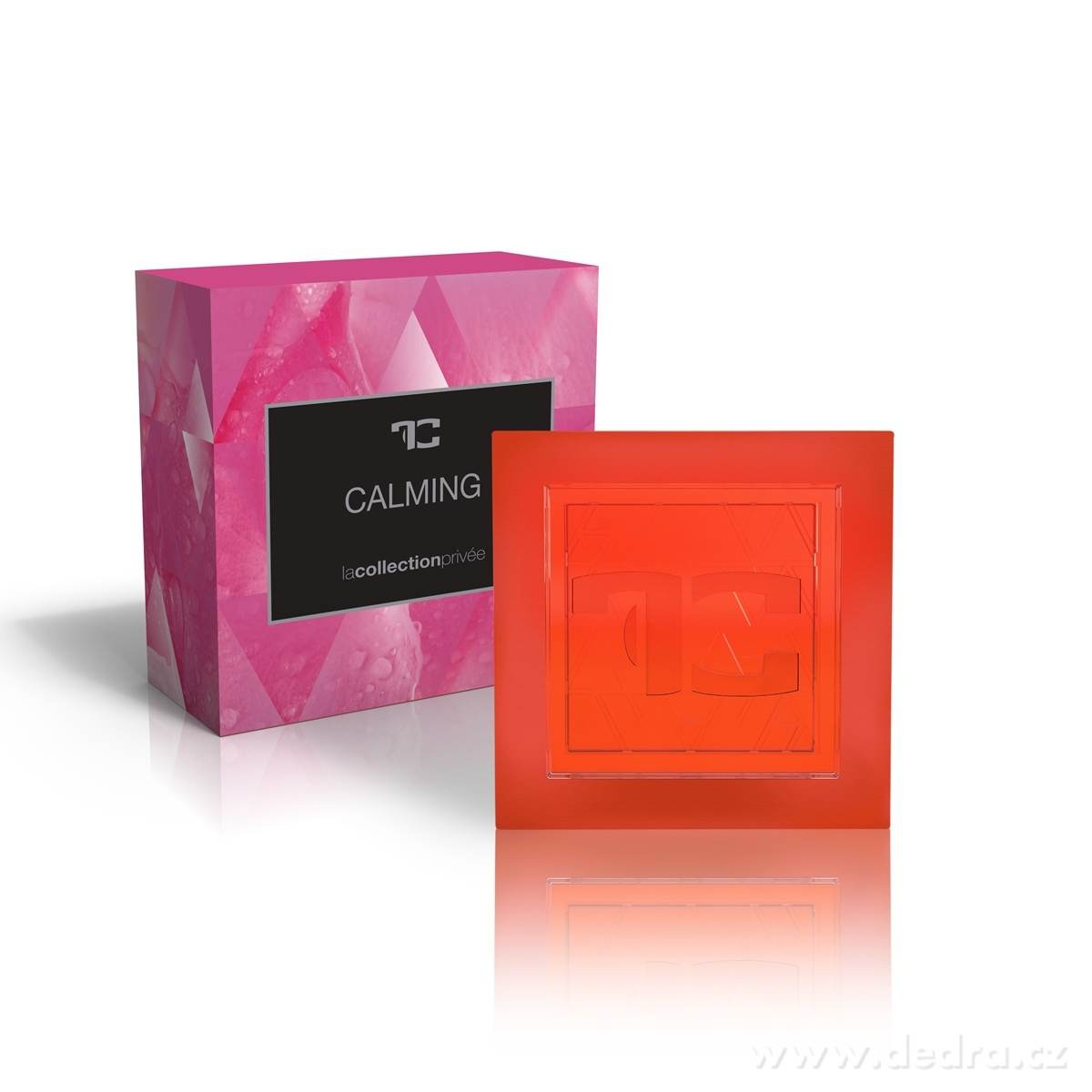 Dedra Přírodní glycerinové mýdlo Calming la collection privée 90 g