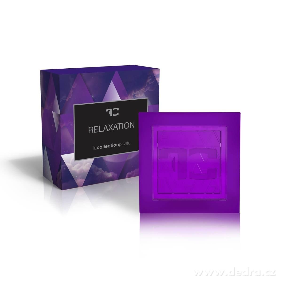 Dedra Přírodní glycerinové mýdlo Relaxation la collection privée 90 g