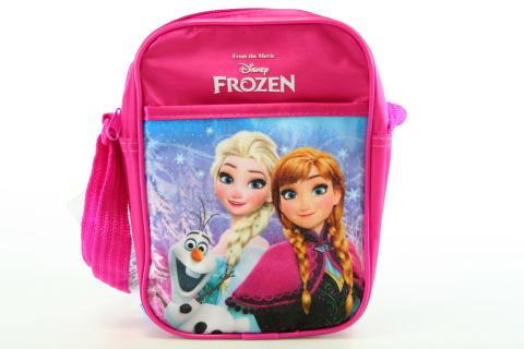 Kabelka, taška Ledové království, Frozen růžová