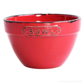 Dedra Miska Bowl  o objemu 400 ml bordó